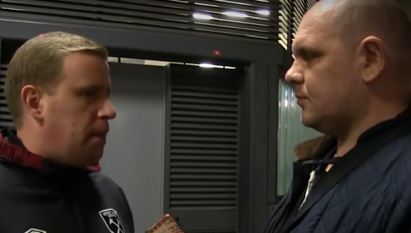 VIDEO: West Ham Fan Stakes Claim for Angriest Person Ever After Arsenal Batter Hammers