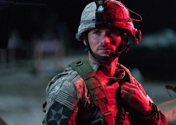 """Fathom Events plans to hold special event screenings of the military thriller """"The Outpost,"""" starring Scott Eastwood, on 500 screens July 2, followed by a more limited theatrical run. <span class=""""copyright"""">(Screen Media)</span>"""