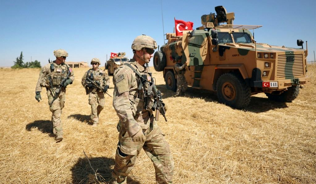Image result for Exacerbation in Syria: how the US is going to punish Turkey