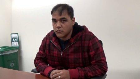 FILE PHOTO: Cleber Rene Rizerio Rocha, 28, whose arrest on January 4, 2017 led U.S. authorities to discover million hidden under a mattress, is seen in this image from a video of an interrogation. Courtesy U.S. Attorney's Office in Massachusetts/Handout via REUTERS/File Photo