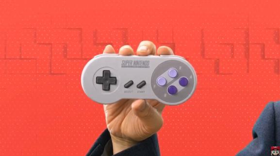 New Super NES controller for Switch.