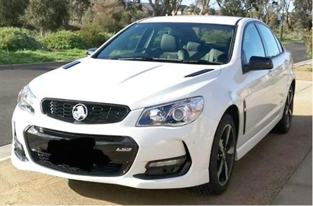 The victim's new Holden Commodore was stolen and allegedly later involved in a pursuit in Broadmeadows. Picture: Supplied