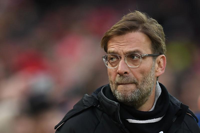 Manager Jurgen Klopp says he is