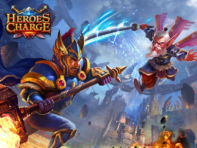 Heroes Charge, developed by uCool. (uCool)
