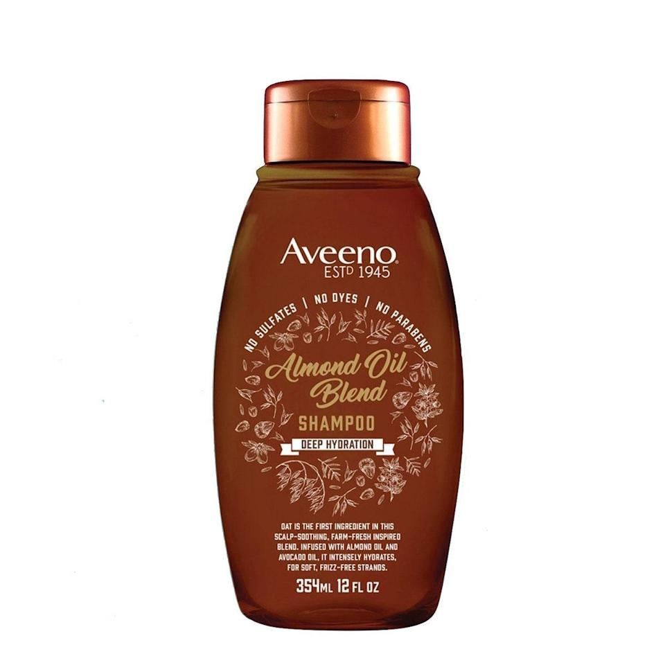"When it comes to my fine, oily, color-treated hair, I say this shampoo is amazing. It smells incredible, the avocado and almond oils in the formula leave your hair smooth and frizz-free, and it's made without any sulfates or parabens. What's not to like? —<em>L.S.</em> $7, Aveeno. <a href=""https://shop-links.co/1670703178157231864"" rel=""nofollow noopener"" target=""_blank"" data-ylk=""slk:Get it now!"" class=""link rapid-noclick-resp"">Get it now!</a>"