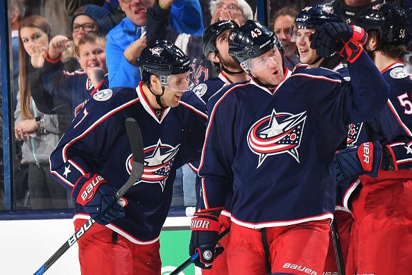 Blue Jackets crush Penguins, take over division lead with 11th ...
