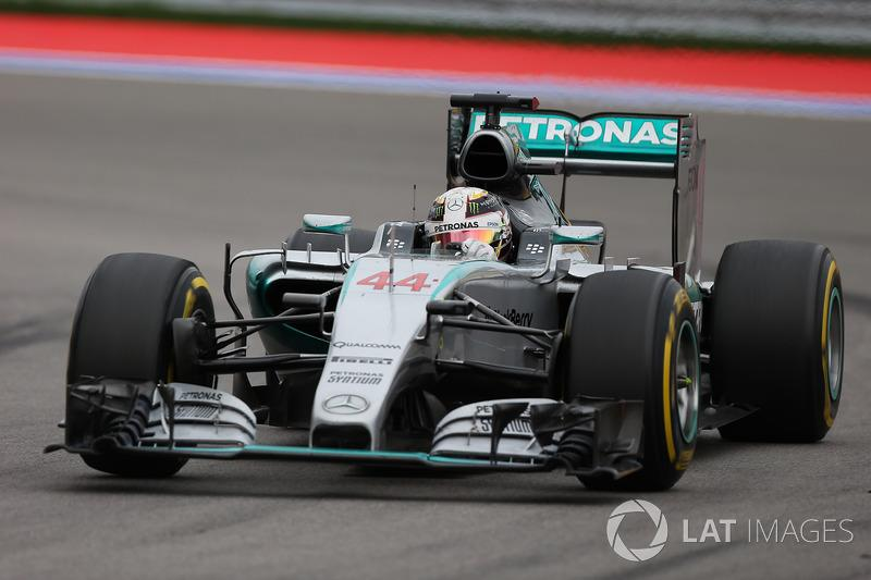 """Mercedes AMG F1 W06 (2015)<span class=""""copyright"""">Sutton Motorsport Images</span>"""