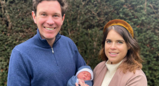 Princess Eugenie and husband Jack Brooksbank have announced they have named their newborn son August. (Getty Images)