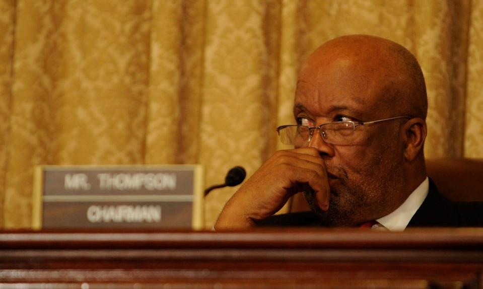 House Homeland Security Committee Chairman Bennie G. Thompson (D-Miss.) says he wants the TSA and FBI to put Capitol riot participants on the federal No Fly List.