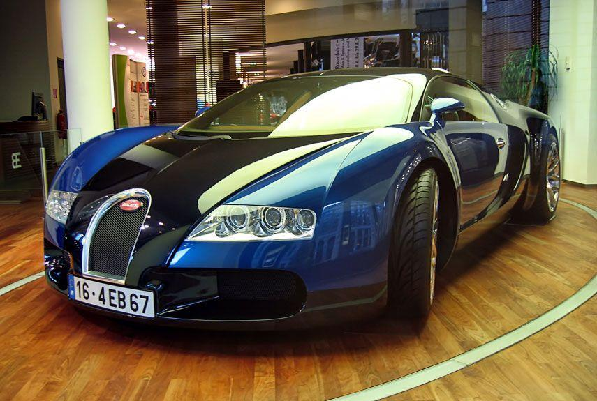 <p>It took nearly 15 years for a car to wrest the ultimate road-going performance title from the McLaren F1, so when the Veyron did it, the whole world took notice. In SS trim, the Veyron hits an absurd top speed of nearly 268 mph.</p>