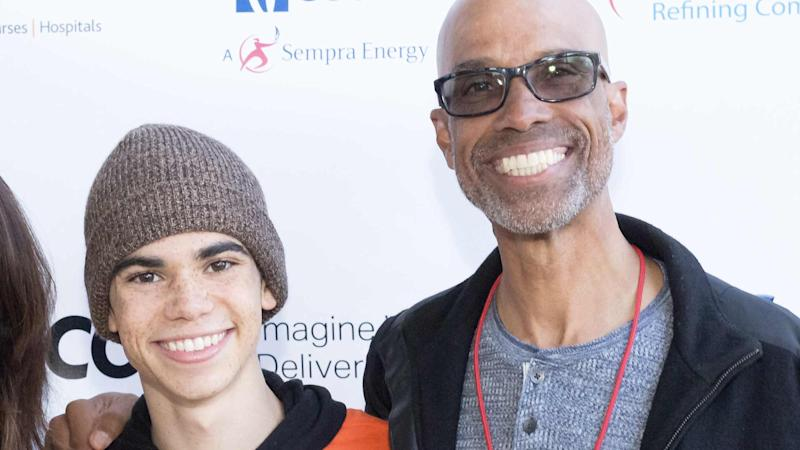 Cameron Boyce's father shares final photo taken before his son's death