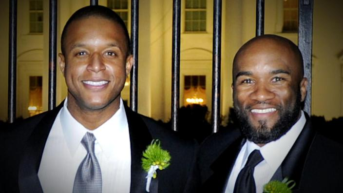 Melvin's brother, Lawrence Meadows, was diagnosed with stage 4 colon cancer in 2017. (TODAY)