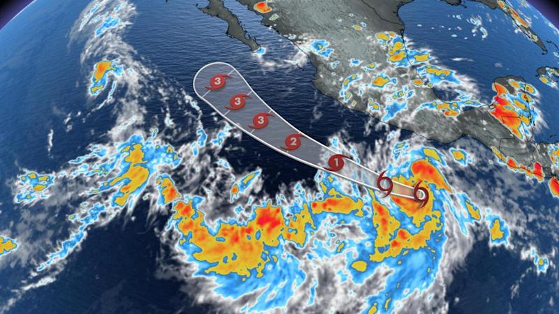 Chance of rain on Tuesday; forecasters watching tropical waves