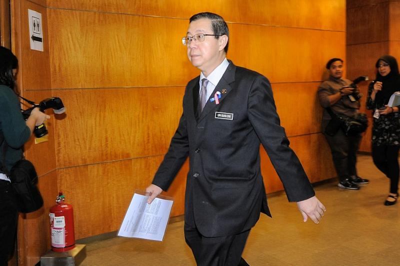 Lim said the country would face an operating expenditure deficit without the tax revenue. ― Picture by Shafwan Zaidon