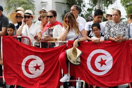 Tunisia holds funeral for president Beji Caid Essebsi, who died at the age of 92