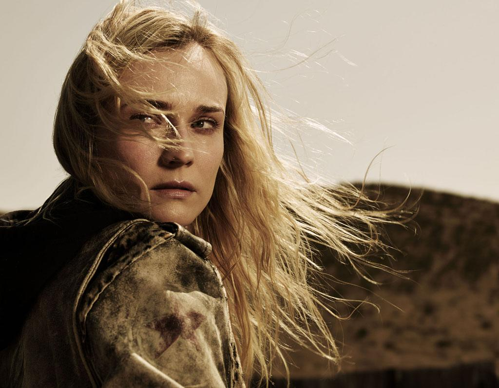 "Diane Kruger as Sonya Cross in FX's ""The Bridge."""