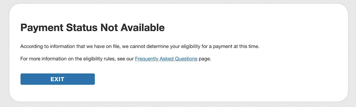 Why the IRS website for checking on your $1,200 relief ...