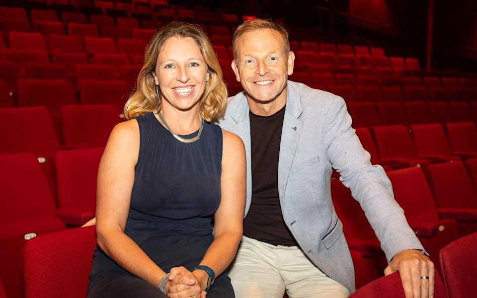 Paul Hendy, who used to present Wheel Of Fortune , warned the slapstick productions are at risk of dying out - Pamela Raith