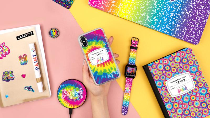 These New Lisa Frank x Casetify Phone Cases Are Giving Me Major Nostalgia