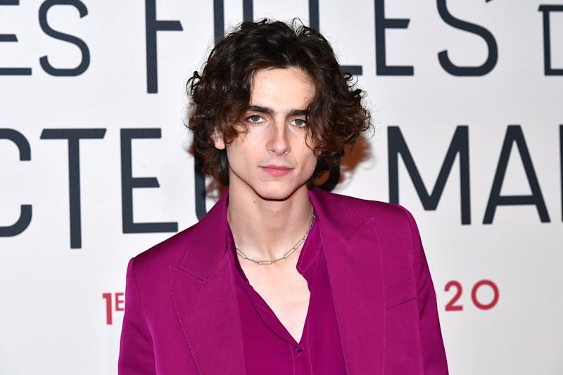 PARIS, FRANCE - DECEMBER 12: Timothee Chalamet attends the