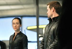Maggie Q and Shane West   Photo Credits: Ben Mark Holzberg /The CW