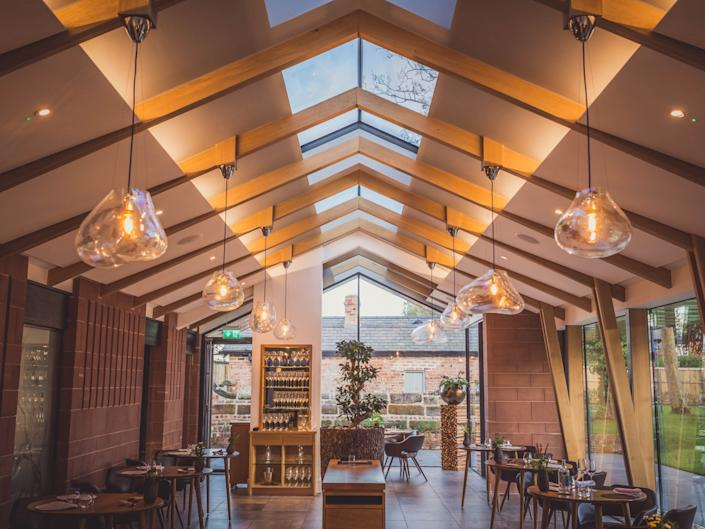 After reopening in July, Mark Birchall says they welcomed more than 7,000 diners in a covid-secure way without any problemsMoor Hall