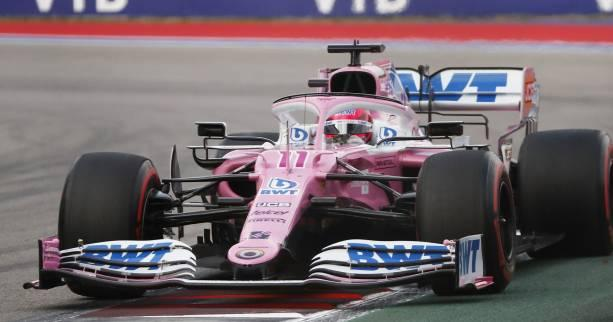 F1 - Racing Point - Sergio Perez reçoit les évolutions sur sa Racing Point
