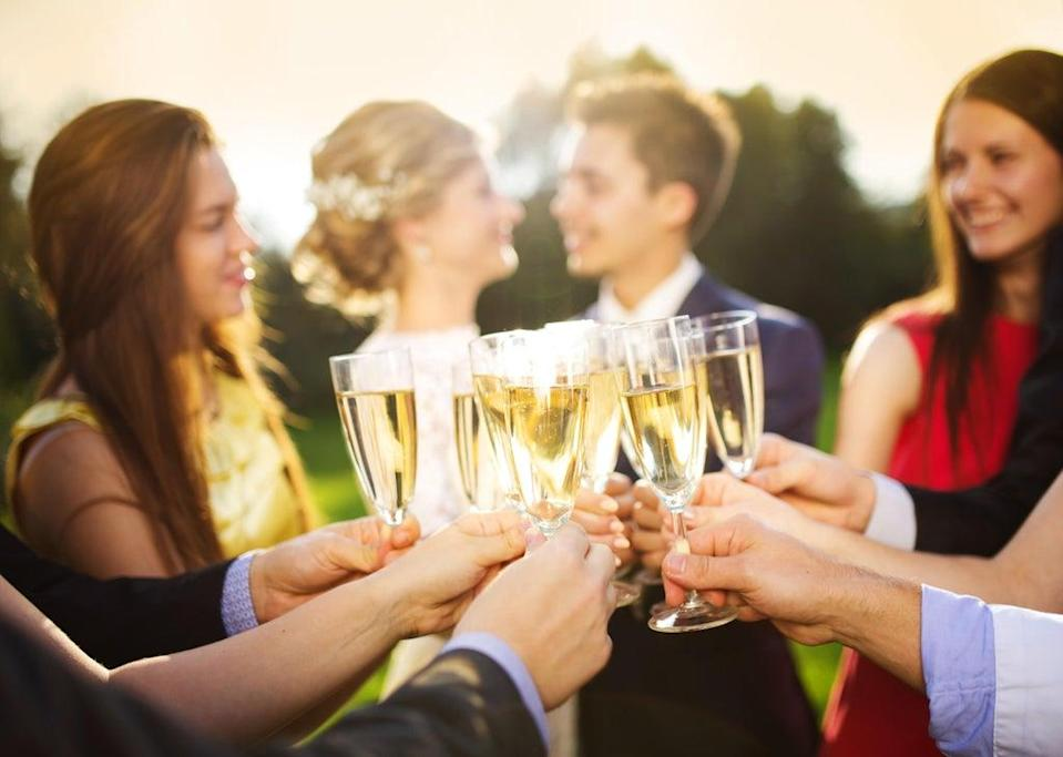 The cost of being a wedding guest can really add up (Alamy/PA)