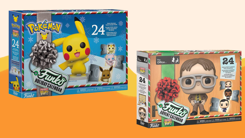 Funko released a number of fun advent calendars for 2021.