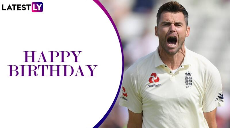 James Anderson Birthday Special: Five Times the Legendary England Pacer Ripped Apart Opposition Batting Line-Up in Tests