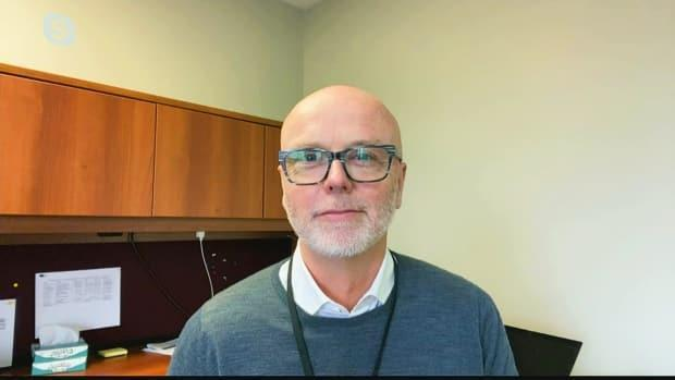 'There's a very big difference with how we manage this here and how it is managed in other parts of the country,' says Dr. Michael Gardam, the chief operating officer at Health PEI.  (CBC - image credit)