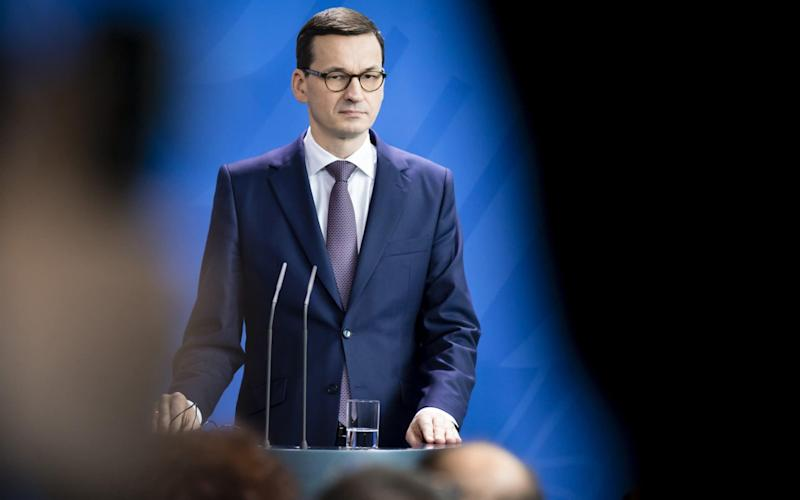 Polish Prime Minister Morawiecki has drawn criticism for his latest remarks - Photothek