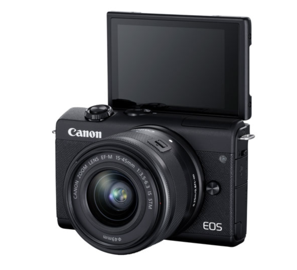 Canon EOS M200 Mirrorless Camera with 15-45mm IS STM Lens Kit (Image via Best Buy Canada).