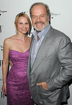 Kelsey Grammer's Wife Kayte Walsh Pregnant With Twins!