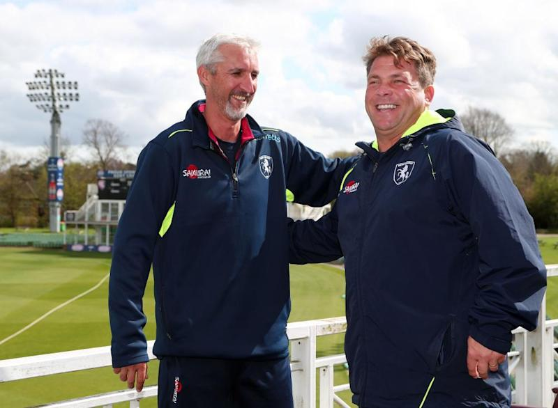 Can interim assistant coach Jason Gillespie give Kent's head coach Matt Walker some valuable early season pointers?