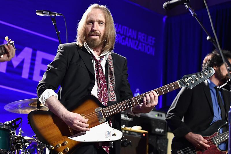 Mix up: The late musician Tom Petty (Getty Images )