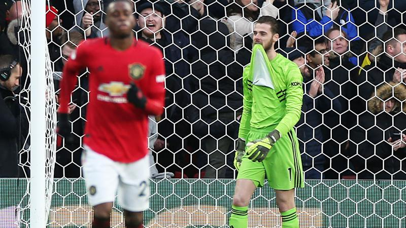 David de Gea and Manchester United, pictured here in their loss to Watford.