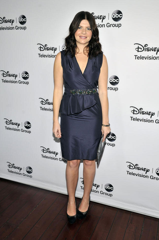 "Casey Wilson (""Happy Endings"") attends the Disney ABC Television Group 2013 TCA Winter Press Tour at The Langham Huntington Hotel and Spa on January 10, 2013 in Pasadena, California."