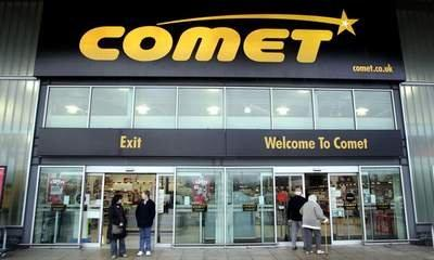 Comet Gift Vouchers Now Back In Business