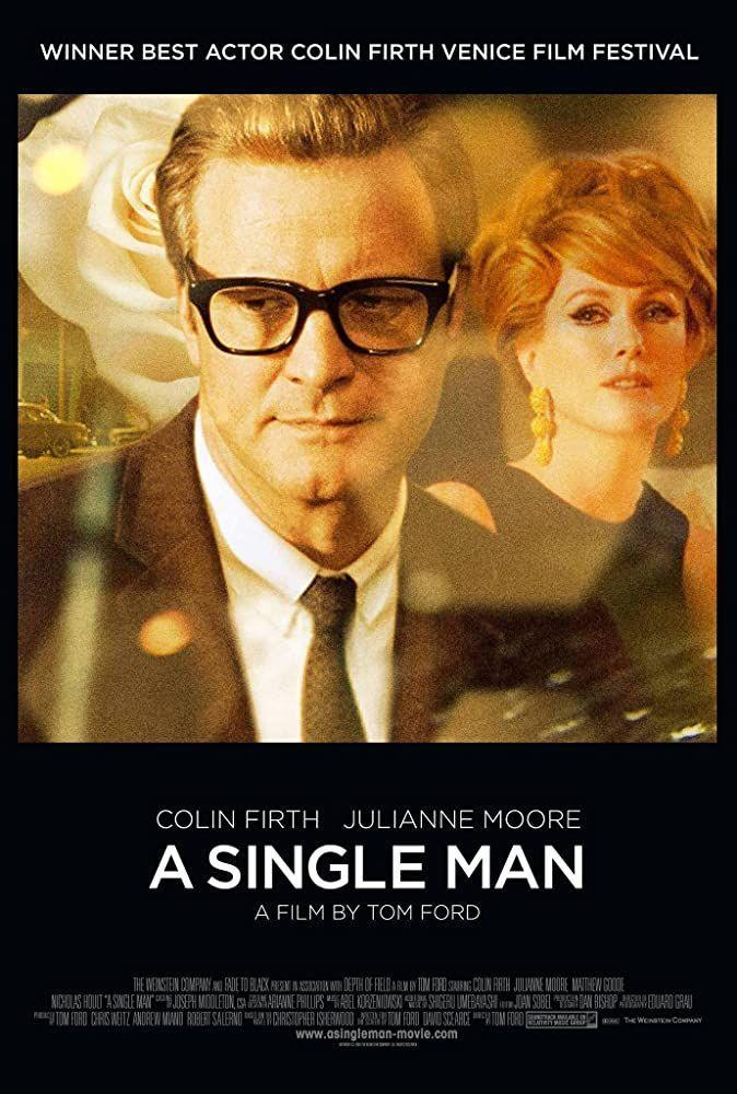 """<p>Starring Colin Firth, this film is about a gay man dealing with the sudden death of his partner. Fashion designer Tom Ford directed it and told <em>On Top Magazine</em> that he wanted it to be <a href=""""http://www.ontopmag.com/article/4526/Gay_Entertainment_Report_Fords_Single_Man_Wins_Queer_Lion"""" rel=""""nofollow noopener"""" target=""""_blank"""" data-ylk=""""slk:a human story"""" class=""""link rapid-noclick-resp"""">a human story</a> rather than a """"gay"""" story, because not all media that features gay people needs their sexual identity to be the driving force of the narrative. </p><p>""""It's really a film about love and isolation that I think all of us feel, so it is very universal,"""" Ford said.</p>"""