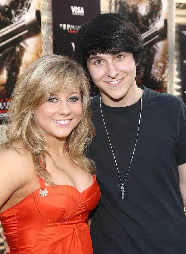 HOLLYWOOD - MAY 14: Gymnast Shawn Johnson and actor/musician Mitchel Musso arrive at the premiere of Warner Bros. 'Terminator Salvation' at Grauman's Chinese Theatre on May 14, 2009 in Hollywood, California. (Photo by Alberto E. Rodriguez/Getty Images)