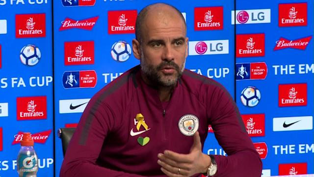 Manchester City's Pep Guardiola is refusing to take his side's FA Cup trip to Wigan Athletic's DW Stadium lightly.