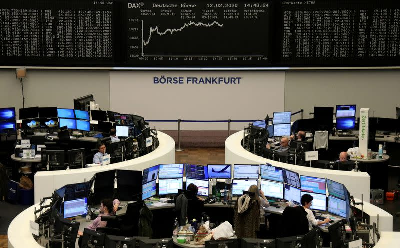 Linde surge helps European shares end flat amid rising coronavirus fears