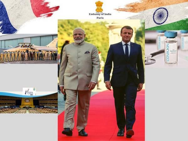 Stronger bilateral ties between India and France (Photo Credit - Indian Embassy in France)