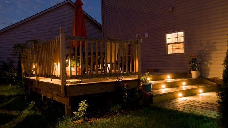Lighting the exterior of your home is equally as important as the interior of your home.
