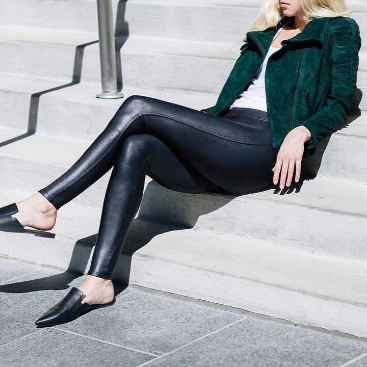 """With thousands of five-star reviews, these leggings really are THAT comfortable and worth it. You might end up wearing these at least once a week, even if you never leave your house.<br /><strong><br />Promising review:</strong>""""I was hesitant to buy as I didn't believe they would look like leather, but a friend said they were amazing, so I gave them a shot. Needless to say, I love them! Perfect control, look like leather and will be adorable with boots! I'm so glad I decided to order!"""" — coolmom3<br /><br /><strong>Get them from Nordstrom <a href=""""https://go.skimresources.com?id=38395X987171&xs=1&url=https%3A%2F%2Fwww.nordstrom.com%2Fs%2Fspanx-faux-leather-leggings-regular-petite-plus-size%2F3828364&xcust=HPSplurgeWorthy60771eb6e4b01654bb7978a0"""" target=""""_blank"""" rel=""""noopener noreferrer"""">$98+</a> (available in sizes XS-XL, XS-XL Petite, and <a href=""""https://go.skimresources.com?id=38395X987171&xs=1&url=https%3A%2F%2Fwww.nordstrom.com%2Fs%2Fspanx-faux-leather-leggings-plus-size%2F4422506&xcust=HPSplurgeWorthy60771eb6e4b01654bb7978a0"""" target=""""_blank"""" rel=""""noopener noreferrer"""">1X-2X</a>).</strong>"""