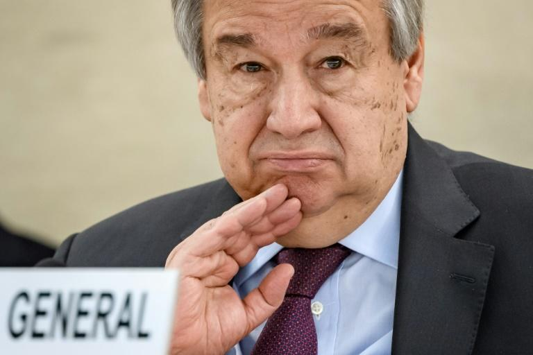 UN chief 'deeply concerned' over Belarus