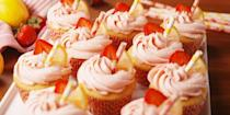 "<p>Sweet strawberry and tart lemon are seriously perfect together.</p><p>Get the <a href=""https://www.delish.com/uk/cooking/recipes/a28795880/pink-lemonade-cupcakes-recipe/"" rel=""nofollow noopener"" target=""_blank"" data-ylk=""slk:Pink Lemonade Cupcakes"" class=""link rapid-noclick-resp"">Pink Lemonade Cupcakes</a> recipe.</p>"