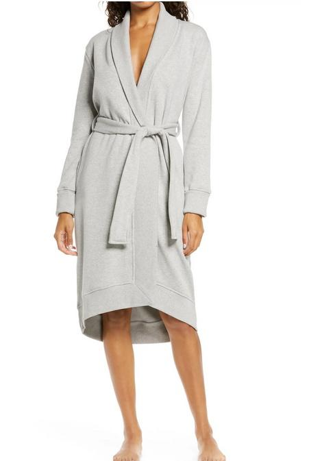 UGG Karoline Fleece Robe. Image via Nordstrom.