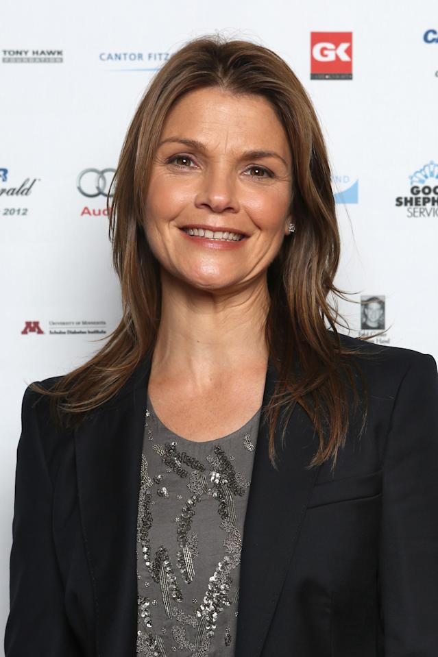 NEW YORK, NY - SEPTEMBER 11: Actress Kathryn Erbe attends Cantor Fitzgerald & BGC Partners host annual charity day on 9/11 to benefit over 100 charities worldwide at Cantor Fitzgerald on September 11, 2012 in New York City. (Photo by Mike McGregor/Getty Images for Cantor Fitzgerald)